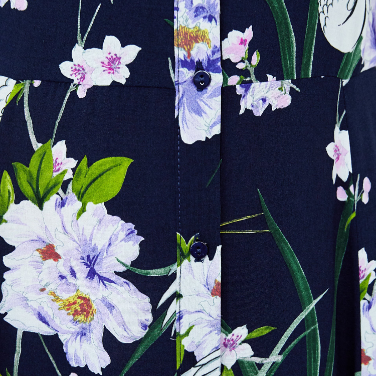 Picture of Long Floral Print Dress
