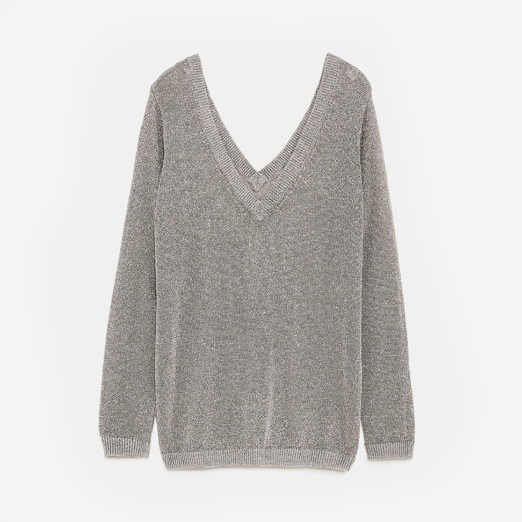Picture of Shimmery Thread Sweater