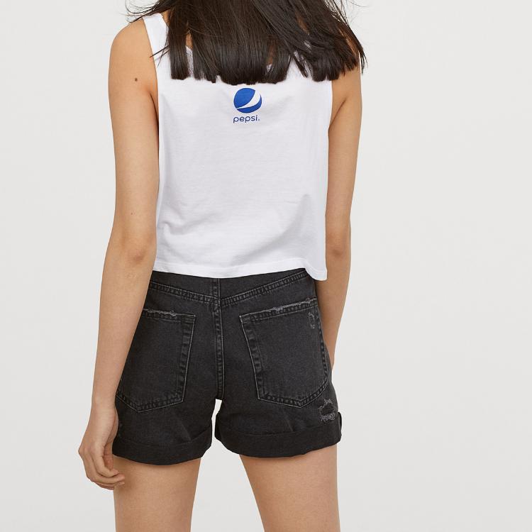 Picture of Black Denim Shorts