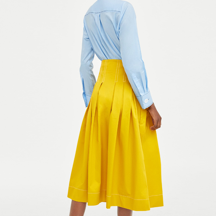 Picture of Spring Yellow Skirt
