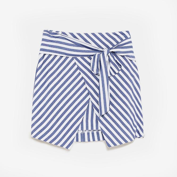 Picture of Nisse Stripe Mini Skirt