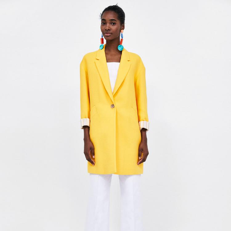 Picture of Lapel Collar Coat