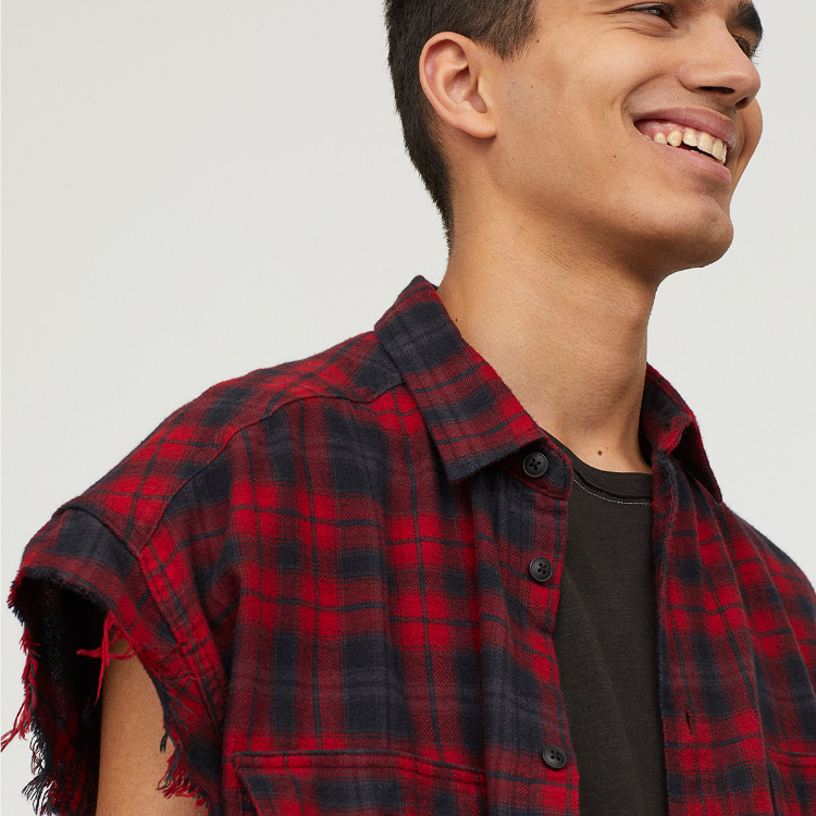Picture of Red Checked Shirt