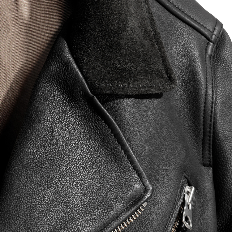 Picture of Leather Biker Jacket