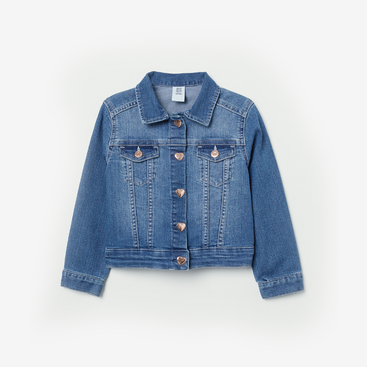 Picture of Printed Denim Jacket
